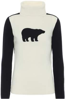 Perfect Moment Bear merino wool sweater
