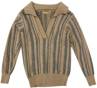 Valentino Brown Cashmere Knitwear for Women Vintage