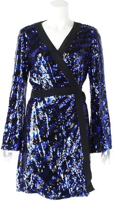 Rixo Blue Glitter Dresses
