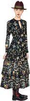 Antonio Marras Floral Printed Crepe Dress