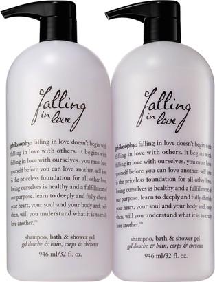 philosophy super-size 32 oz fragrance shower gel duo