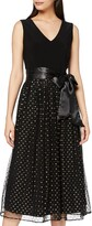 Thumbnail for your product : Gina Bacconi Women's Jersey Spot Dress Cocktail