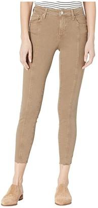 Mavi Jeans Tess High-Rise Ankle Skinny (Earth Stripe) Women's Casual Pants