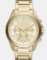 Armani Exchange Drexler Gold-Tone Chronograph Watch