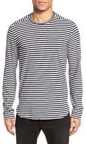 Velvet by Graham & Spencer Men's Newtown Stripe T-Shirt