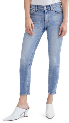 Seven London The Ankle Skinny Jeans with Cutout Pockets