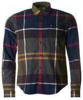 Barbour Alfie Slim Fit Abstract Tartan Shirt