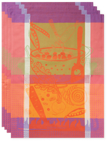 Garnier Thiebaut Soupe Kitchen Towels (Set of 4)