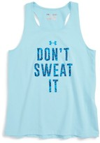 Under Armour Girl's Don'T Sweat It Tank