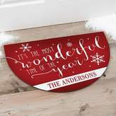 Christmas Quotes Half Round Door Mat