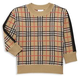 Burberry Little Kid's & Kid's Donnie Merino Wool Sweater