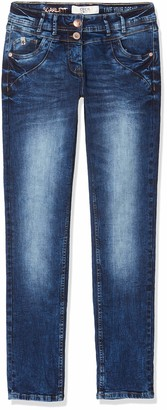 Cecil Women's 372783 Scarlett Loose Fit Straight Jeans