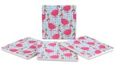 Thirstystone Party Flamingos 4-Pc. Coaster Set