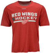 Reebok Men's Detroit Red Wings Center Ice Locker Room T-Shirt