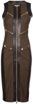 Michael Kors zip utility dress