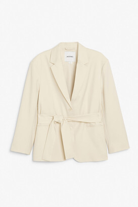 Monki Blazer with wrap belt