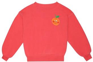 The Animals Observatory Bear cotton-jersey sweatshirt
