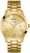GUESS Gold-Tone Classic Multifunction Watch