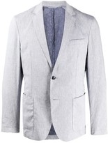 BOSS long sleeve two button blazer