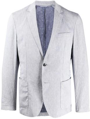 HUGO BOSS Long Sleeve Two Button Blazer