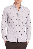 Tomas Maier Palm Tree Button-Up