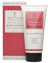 Deep Steep Organic Body Lotion Passion Fruit Guava