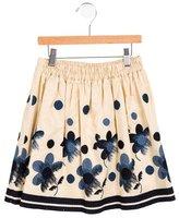 MonnaLisa Girls' Embroidered A-Line Skirt