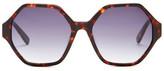 Derek Lam Women&s Deauville Oversized Sunglasses
