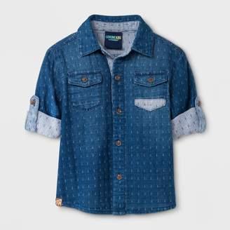 Osh Kosh Genuine Kids From Oshkosh Genuine Kids® from OshKosh Toddler Boys' Long Sleeve Denim Shirt - Wash - 2T