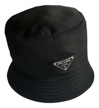 Prada Black Synthetic Hats