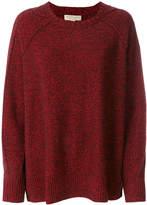 Burberry round neck knit jumper