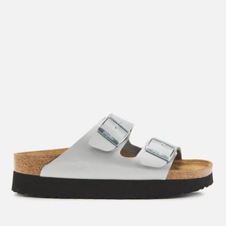 Birkenstock Women's Papillio Arizona Pure Metallic Flatform Sandals
