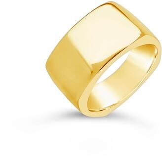 Sterling Forever Square Signet Ring