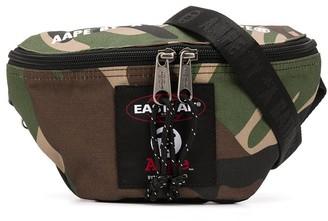 Eastpak x AAPE camouflage print belt bag