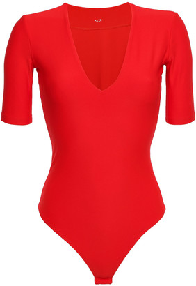 Alix Ludlow Stretch-jersey Bodysuit