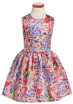 Halabaloo Infant Girl's Candy Fit & Flare Dress