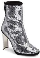 Giuseppe Zanotti Women's Sequin Curved Heel Bootie