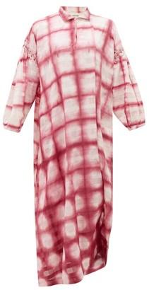 Story mfg. Alea Tie-dye Organic-cotton Dress - Pink White