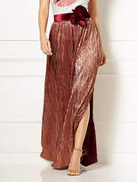 New York & Co. Eva Mendes Collection - Phaedra Pleated Maxi Skirt