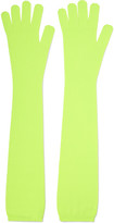 MM6 MAISON MARGIELA Neon wool gloves