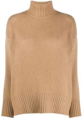 Societe Anonyme High-Neck Cashmere Jumper