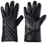 Merona Women's Genuine Leather Tech Touch Glove