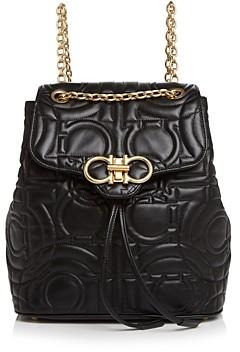 Salvatore Ferragamo Medium Quilted Leather Backpack