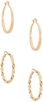 Vanessa Mooney Hoop Earring Set