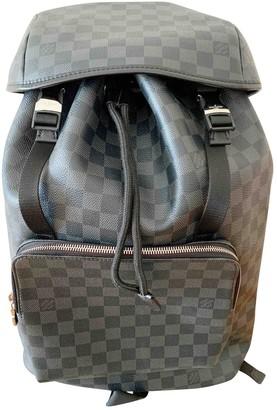 Louis Vuitton Zack Black Cloth Bags
