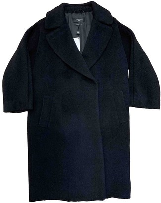 Max Mara Weekend Anthracite Wool Coat for Women