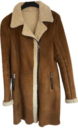 Ventcouvert Camel Leather Coats