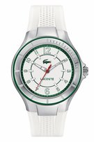 Lacoste 2000755 38mm Stainless Steel Case Rubber Mineral Women's Watch