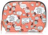 Benefit Cosmetics Words Of Wisdom Cosmetic Bag