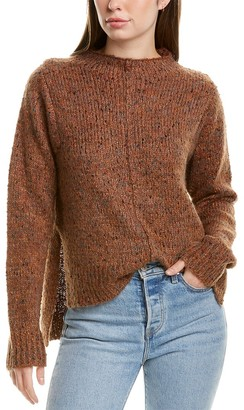 InCashmere In2 By Multi Yarn Wool-Blend Sweater